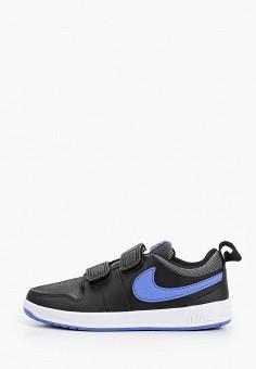 Кеды, Nike, цвет: черный. Артикул: NI464AKHVVE7. Девочкам / Спорт