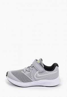 Кроссовки, Nike, цвет: серый. Артикул: NI464AKHVVF5. Мальчикам / Обувь / Кроссовки и кеды