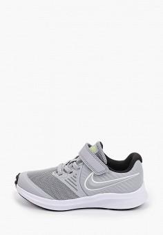 Кроссовки, Nike, цвет: серый. Артикул: NI464AKHVVF5. Девочкам / Спорт