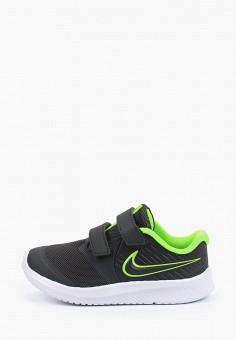 Кроссовки, Nike, цвет: серый. Артикул: NI464AKHVVI5. Мальчикам / Обувь / Кроссовки и кеды