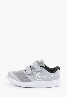 Кроссовки, Nike, цвет: серый. Артикул: NI464AKHVVI6. Девочкам / Спорт