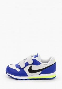 Кроссовки, Nike, цвет: синий. Артикул: NI464AKIVMY8. Девочкам / Спорт