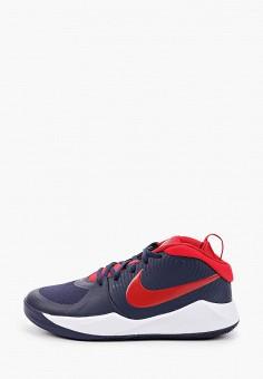 Кроссовки, Nike, цвет: синий. Артикул: NI464AKIVNC2. Девочкам / Спорт