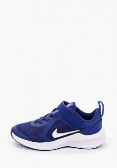 Кроссовки, Nike, цвет: синий. Артикул: NI464AKIVNO1. Девочкам / Спорт