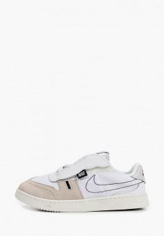 Кеды, Nike, цвет: белый. Артикул: NI464AKIVNR7. Мальчикам / Обувь / Кроссовки и кеды