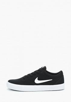 Кеды, Nike, цвет: черный. Артикул: NI464AMDNAN3.