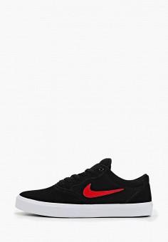 Кеды, Nike, цвет: черный. Артикул: NI464AMFMQX0.
