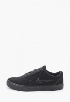 Кеды, Nike, цвет: черный. Артикул: NI464AMHUNX5. Обувь / Кроссовки и кеды / Кеды