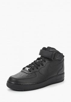 Кеды, Nike, цвет: черный. Артикул: NI464AMIJ369. Обувь / Кроссовки и кеды / Кеды