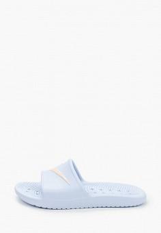 Сланцы, Nike, цвет: голубой. Артикул: NI464AWHVRF5. Обувь / Резиновая обувь