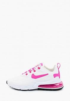 Кроссовки, Nike, цвет: белый. Артикул: NI464AWHVRO4. Обувь