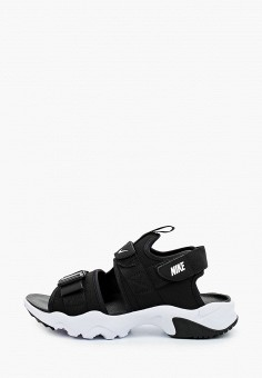 Сандалии, Nike, цвет: черный. Артикул: NI464AWHVSG9. Обувь / Сандалии