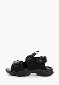 Сандалии, Nike, цвет: черный. Артикул: NI464AWHVSH0. Обувь / Сандалии