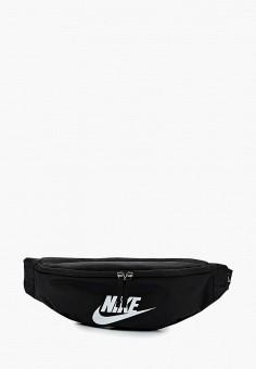 Сумка поясная, Nike, цвет: черный. Артикул: NI464BUBBIQ8. Аксессуары / Сумки