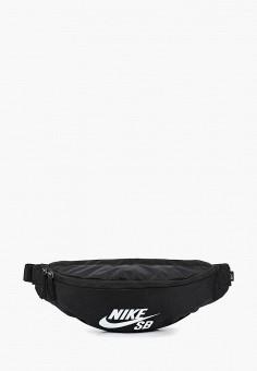 Сумка поясная, Nike, цвет: черный. Артикул: NI464BUDSGZ6. Аксессуары / Сумки