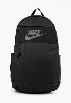 Рюкзак, Nike, цвет: черный. Артикул: NI464BUFLAP5. Аксессуары / Рюкзаки / Рюкзаки
