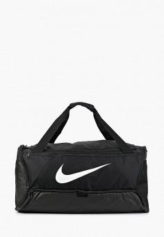 Сумка спортивная, Nike, цвет: черный. Артикул: NI464BUFLAU6.
