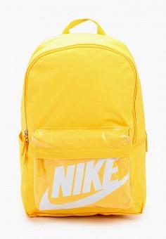 Рюкзак, Nike, цвет: желтый. Артикул: NI464BUHTFW8. Аксессуары / Рюкзаки