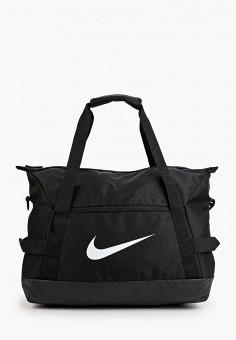 Сумка спортивная, Nike, цвет: черный. Артикул: NI464BUHTGA2. Аксессуары / Сумки