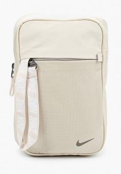 Сумка, Nike, цвет: бежевый. Артикул: NI464BUJNAX2. Аксессуары / Сумки