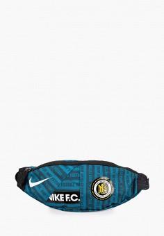 Сумка поясная, Nike, цвет: зеленый. Артикул: NI464BUJNAX8. Аксессуары / Сумки