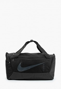Сумка спортивная, Nike, цвет: черный. Артикул: NI464BUJNBM3. Аксессуары / Сумки