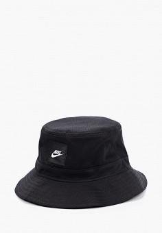 Панама, Nike, цвет: черный. Артикул: NI464CUHTDD6. Аксессуары / Головные уборы