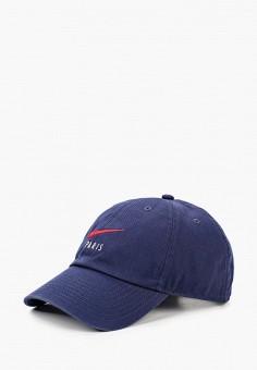 Бейсболка, Nike, цвет: синий. Артикул: NI464CUHTDE9. Аксессуары / Головные уборы