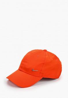 Бейсболка, Nike, цвет: оранжевый. Артикул: NI464CUHTPH3. Аксессуары / Головные уборы