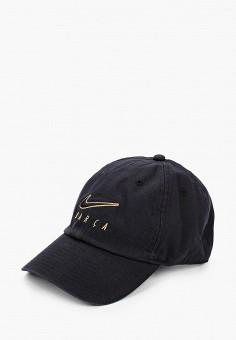Бейсболка, Nike, цвет: черный. Артикул: NI464CUJMZZ6. Аксессуары / Головные уборы