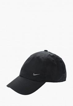 Бейсболка, Nike, цвет: черный. Артикул: NI464CUKBAN0. Аксессуары / Головные уборы