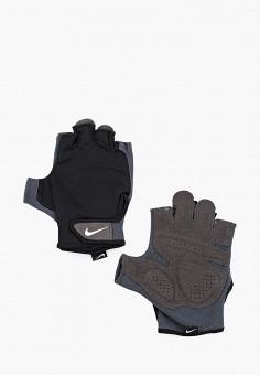 Перчатки для фитнеса, Nike, цвет: черный. Артикул: NI464DMHCXK0. Аксессуары / Перчатки и варежки