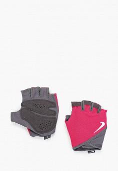 Перчатки для фитнеса, Nike, цвет: розовый. Артикул: NI464DWJHEL9. Аксессуары / Перчатки и варежки