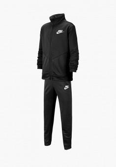 Костюм спортивный, Nike, цвет: черный. Артикул: NI464EBFMCW6. Мальчикам / Одежда