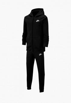 Костюм спортивный, Nike, цвет: черный. Артикул: NI464EBFMCW9.