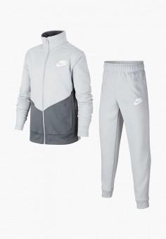 Костюм спортивный, Nike, цвет: серый. Артикул: NI464EBHUSM8.