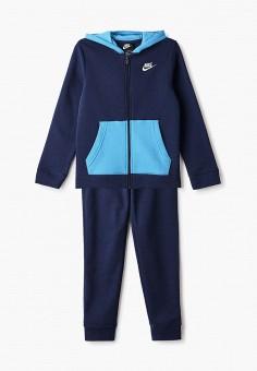 Костюм спортивный, Nike, цвет: синий. Артикул: NI464EBHUSN0.