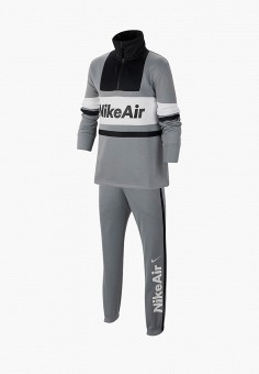 Костюм спортивный, Nike, цвет: серый. Артикул: NI464EBIUKN5. Мальчикам / Одежда