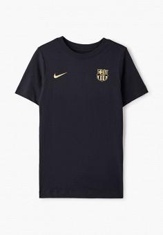 Футболка, Nike, цвет: черный. Артикул: NI464EBJOBK4.