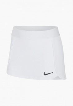Юбка, Nike, цвет: белый. Артикул: NI464EGITVT4.