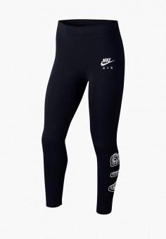 Леггинсы, Nike, цвет: черный. Артикул: NI464EGJWTY6.
