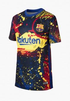 Футболка спортивная, Nike, цвет: мультиколор. Артикул: NI464EKHTWZ5. Девочкам / Спорт