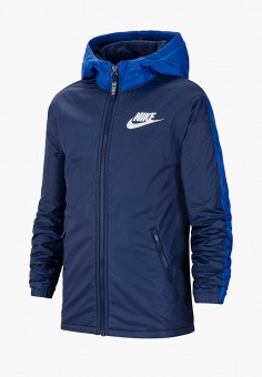 Куртка, Nike, цвет: синий. Артикул: NI464EKJWUA5.