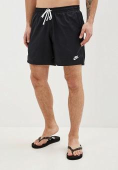 Шорты для плавания, Nike, цвет: черный. Артикул: NI464EMDNEN7. Одежда / Шорты