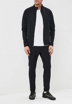Костюм спортивный, Nike, цвет: черный. Артикул: NI464EMDNFI6. Одежда / Спортивные костюмы