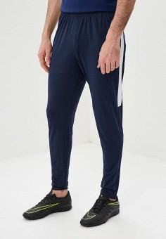 Брюки спортивные, Nike, цвет: синий. Артикул: NI464EMDNFM2. Одежда / Брюки / Спортивные брюки