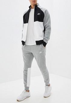 Костюм спортивный, Nike, цвет: серый. Артикул: NI464EMFLCK3.