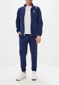 Костюм спортивный, Nike, цвет: синий. Артикул: NI464EMFLCK6. Одежда / Спортивные костюмы