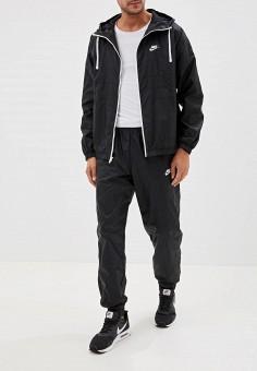 Костюм спортивный, Nike, цвет: черный. Артикул: NI464EMFLCL6. Одежда / Спортивные костюмы