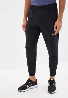Брюки спортивные, Nike, цвет: черный. Артикул: NI464EMFLCP6. Одежда / Брюки / Спортивные брюки